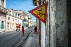 On the Streets of Havana Vieja