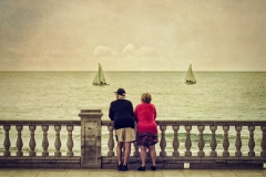Watching the Sea - Sitges, Spain